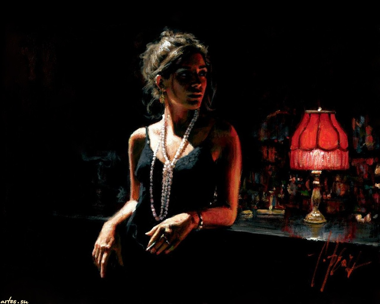 Девушка с виски фото черно-белое